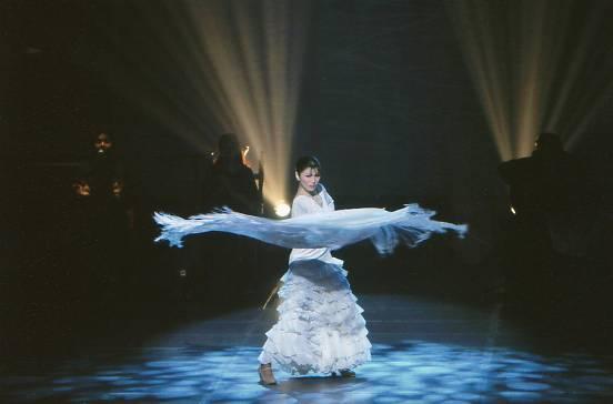 津島美代子フラメンコ舞踊